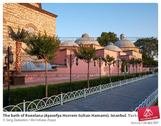 The bath of Roxelana (Ayasofya Hurrem Sultan Hamami). Istanbul. Turkey (2016 год). Стоковое фото, фотограф Serg Zastavkin / Фотобанк Лори