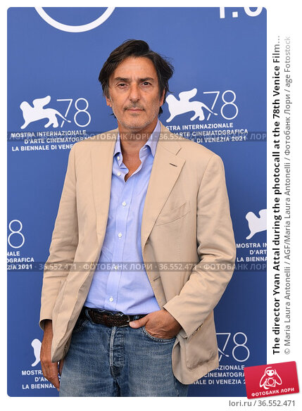The director Yvan Attal during the photocall at the 78th Venice Film... Редакционное фото, фотограф Maria Laura Antonelli / AGF/Maria Laura Antonelli / age Fotostock / Фотобанк Лори