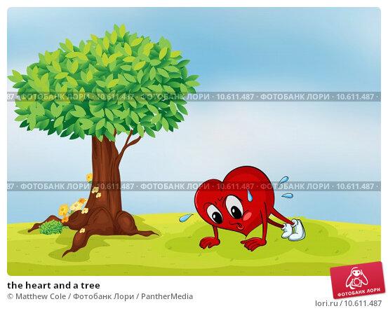 the heart and a tree. Стоковая иллюстрация, иллюстратор Matthew Cole / PantherMedia / Фотобанк Лори