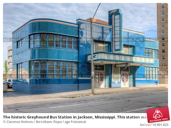 Купить «The historic Greyhound Bus Station in Jackson, Mississippi. This station was the destination of the Freedom Riders in 1961. The station was renovated by...», фото № 14901823, снято 18 июня 2018 г. (c) age Fotostock / Фотобанк Лори