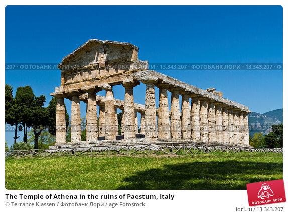 temple of athena paestum analysis