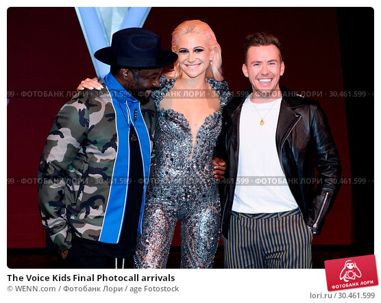 The Voice Kids Final Photocall arrivals (2017 год). Редакционное фото, фотограф WENN.com / age Fotostock / Фотобанк Лори