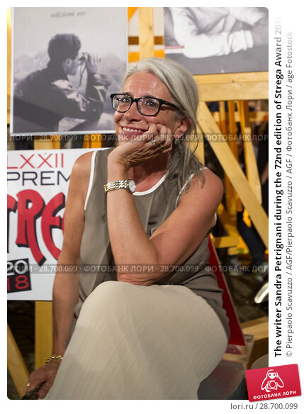 Купить «The writer Sandra Petrignani during the 72nd edition of Strega Award 2018, Rome, ITALY-05-07-2018.», фото № 28700099, снято 5 июля 2018 г. (c) age Fotostock / Фотобанк Лори
