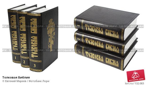 Толковая Библия, фото № 132083, снято 27 ноября 2007 г. (c) Евгений Мареев / Фотобанк Лори