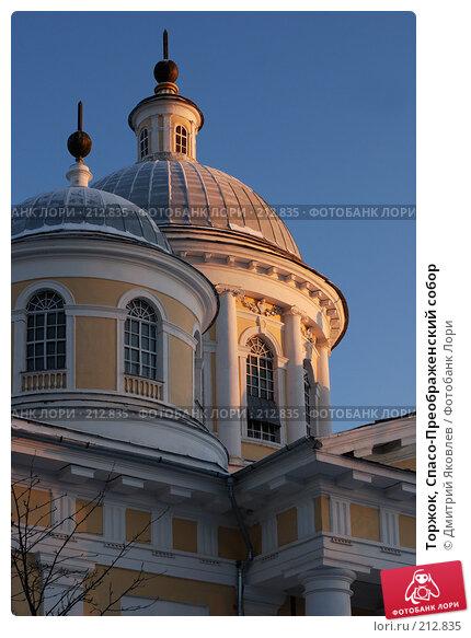 Торжок, Спасо-Преображенский собор, фото № 212835, снято 7 января 2008 г. (c) Дмитрий Яковлев / Фотобанк Лори