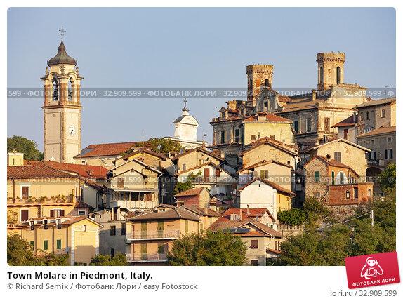 Town Molare in Piedmont, Italy. Стоковое фото, фотограф Richard Semik / easy Fotostock / Фотобанк Лори