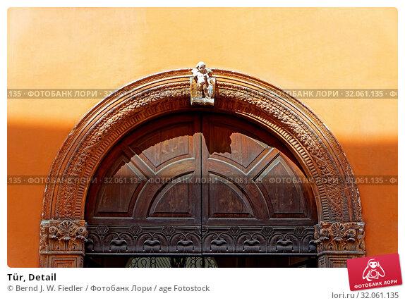 Tür, Detail. Стоковое фото, фотограф Bernd J. W. Fiedler / age Fotostock / Фотобанк Лори