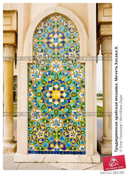 Традиционная арабская мозаика. Мечеть Хасана II., фото № 293787, снято 24 февраля 2008 г. (c) Олег Селезнев / Фотобанк Лори