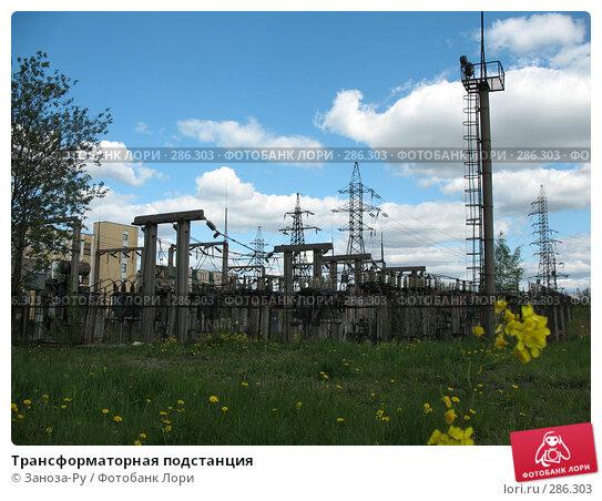 Купить «Трансформаторная подстанция», фото № 286303, снято 13 мая 2008 г. (c) Заноза-Ру / Фотобанк Лори
