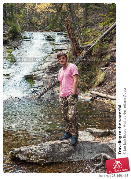 Купить «Traveling to the waterfall», фото № 28169415, снято 18 сентября 2016 г. (c) Jan Jack Russo Media / Фотобанк Лори