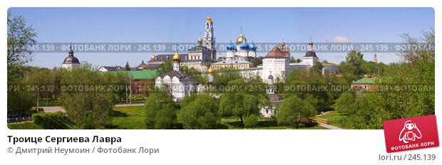 Троице Сергиева Лавра, эксклюзивное фото № 245139, снято 20 мая 2007 г. (c) Дмитрий Неумоин / Фотобанк Лори