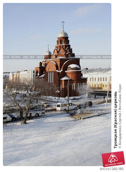 Троицкая (Красная) церковь, фото № 202183, снято 5 января 2008 г. (c) Бондаренко Сергей / Фотобанк Лори