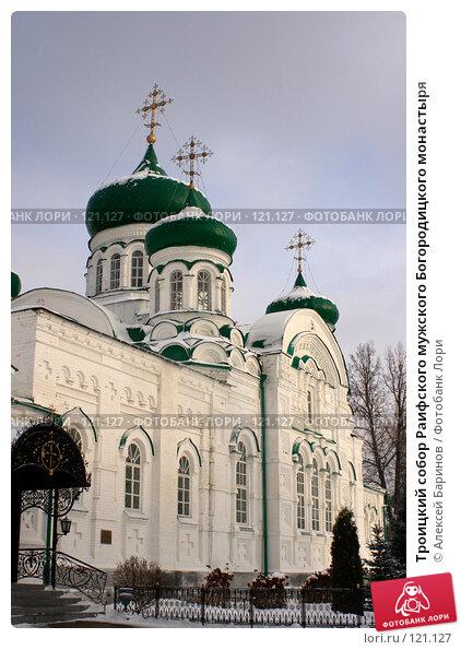 Троицкий собор Раифского мужского Богородицкого монастыря, фото № 121127, снято 18 ноября 2007 г. (c) Алексей Баринов / Фотобанк Лори