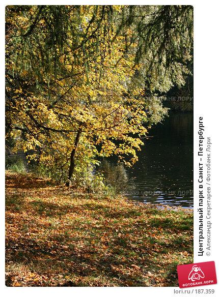 Центральный парк в Санкт – Петербурге, фото № 187359, снято 30 сентября 2007 г. (c) Александр Секретарев / Фотобанк Лори