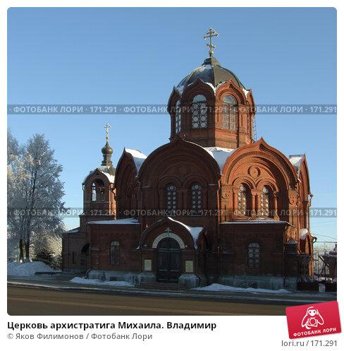 Церковь архистратига Михаила. Владимир, фото № 171291, снято 8 января 2008 г. (c) Яков Филимонов / Фотобанк Лори