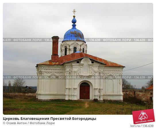 Церковь Благовещения Пресвятой Богородицы, фото № 136639, снято 10 ноября 2007 г. (c) Осиев Антон / Фотобанк Лори