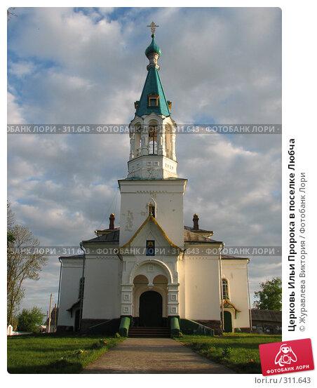 Церковь Ильи Пророка в поселке Любча, фото № 311643, снято 20 ноября 2007 г. (c) Журавлева Виктория / Фотобанк Лори