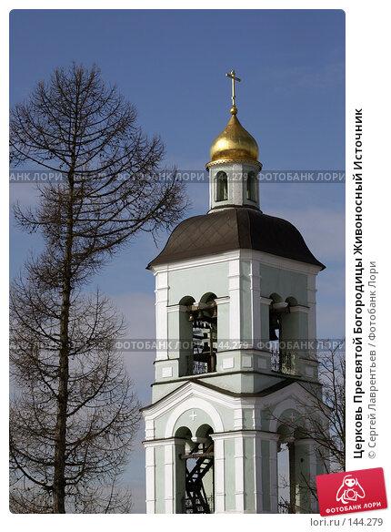 Церковь Пресвятой Богородицы Живоносный Источник, фото № 144279, снято 12 марта 2004 г. (c) Сергей Лаврентьев / Фотобанк Лори