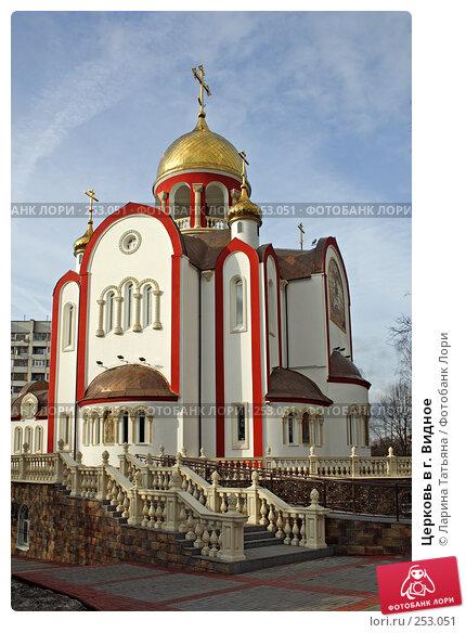 Церковь в г. Видное, фото № 253051, снято 15 марта 2008 г. (c) Ларина Татьяна / Фотобанк Лори