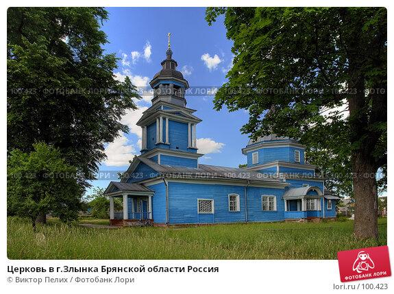 Церковь в г.Злынка Брянской области Россия, фото № 100423, снято 26 июня 2017 г. (c) Виктор Пелих / Фотобанк Лори