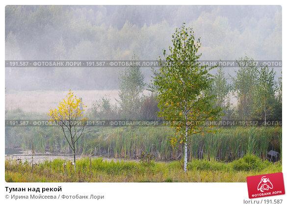 Туман над рекой, эксклюзивное фото № 191587, снято 26 сентября 2007 г. (c) Ирина Мойсеева / Фотобанк Лори