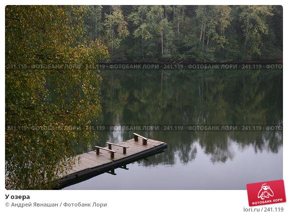 Купить «У озера», фото № 241119, снято 7 октября 2006 г. (c) Андрей Явнашан / Фотобанк Лори