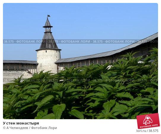 У стен монастыря, фото № 38575, снято 19 сентября 2006 г. (c) A Челмодеев / Фотобанк Лори