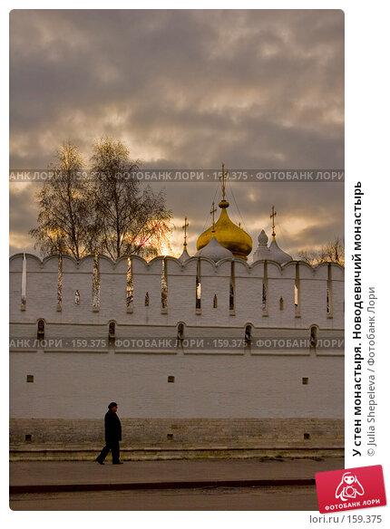 У стен монастыря. Новодевичий монастырь, фото № 159375, снято 8 ноября 2007 г. (c) Julia Shepeleva / Фотобанк Лори