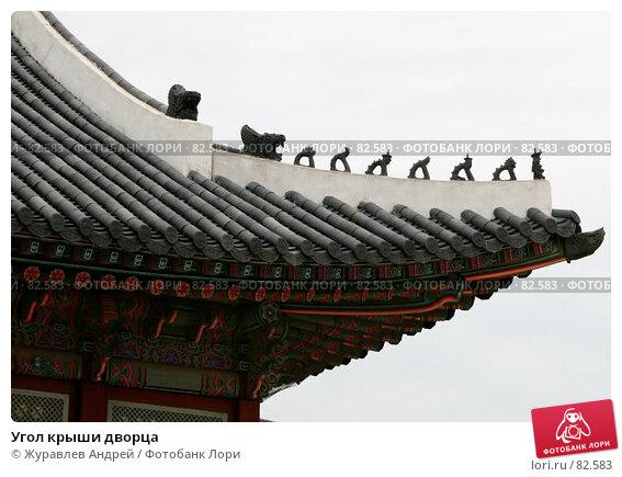 Купить «Угол крыши дворца», эксклюзивное фото № 82583, снято 5 сентября 2007 г. (c) Журавлев Андрей / Фотобанк Лори
