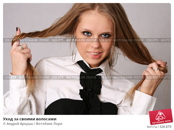 Уход за своими волосами, фото № 328879, снято 8 мая 2008 г. (c) Андрей Аркуша / Фотобанк Лори