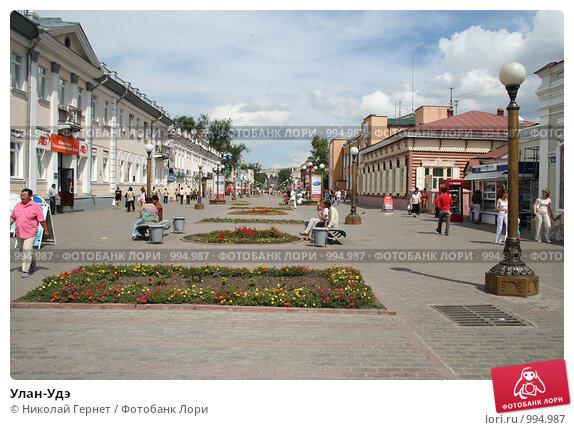 Улан-Удэ (2006 год). Редакционное фото, фотограф Николай Гернет / Фотобанк Лори