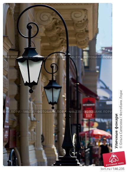 Купить «Уличные фонари», фото № 146235, снято 16 августа 2007 г. (c) Ольга Сапегина / Фотобанк Лори