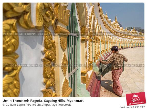 Umin Thounzeh Pagoda, Sagaing Hills, Myanmar., фото № 23436247 ...: https://lori.ru/23436247