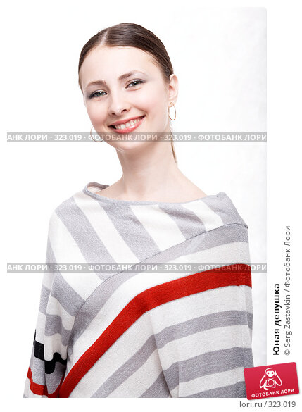 Юная девушка, фото № 323019, снято 9 мая 2008 г. (c) Serg Zastavkin / Фотобанк Лори