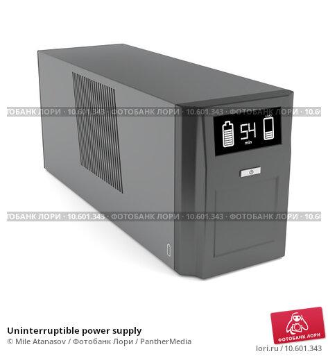 Uninterruptible power supply. Стоковое фото, фотограф Mile Atanasov / PantherMedia / Фотобанк Лори
