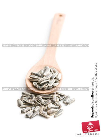 Купить «Unpeeled sunflower seeds.», фото № 27783251, снято 20 апреля 2019 г. (c) PantherMedia / Фотобанк Лори
