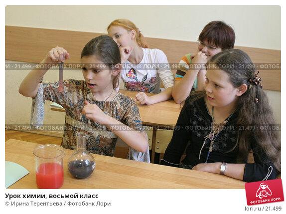 Урок химии, восьмой класс, эксклюзивное фото № 21499, снято 2 августа 2006 г. (c) Ирина Терентьева / Фотобанк Лори