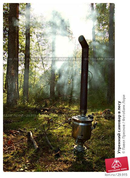 Утренний самовар в лесу, фото № 29915, снято 21 июля 2006 г. (c) Павел Преснов / Фотобанк Лори
