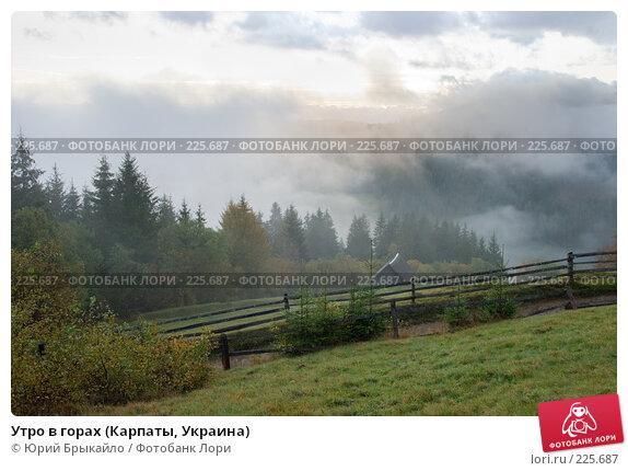 Утро в горах (Карпаты, Украина), фото № 225687, снято 29 сентября 2007 г. (c) Юрий Брыкайло / Фотобанк Лори