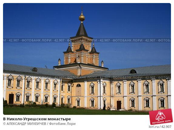 Купить «В Николо-Угрешском монастыре», фото № 42907, снято 6 мая 2007 г. (c) АЛЕКСАНДР МИХЕИЧЕВ / Фотобанк Лори