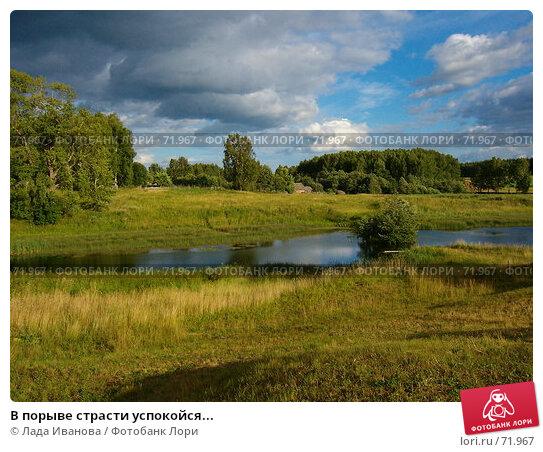 В порыве страсти успокойся..., фото № 71967, снято 20 июля 2006 г. (c) Лада Иванова / Фотобанк Лори