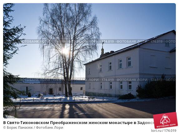 В Свято-Тихоновском Преображенском женском монастыре в Задонске, фото № 174019, снято 1 января 2008 г. (c) Борис Панасюк / Фотобанк Лори