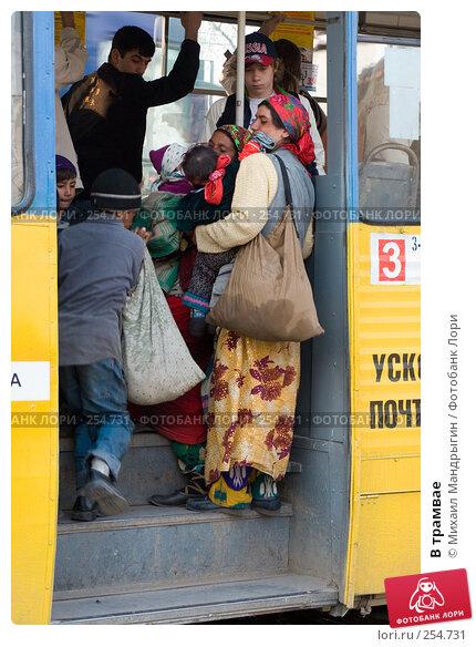 В трамвае, фото № 254731, снято 14 апреля 2008 г. (c) Михаил Мандрыгин / Фотобанк Лори