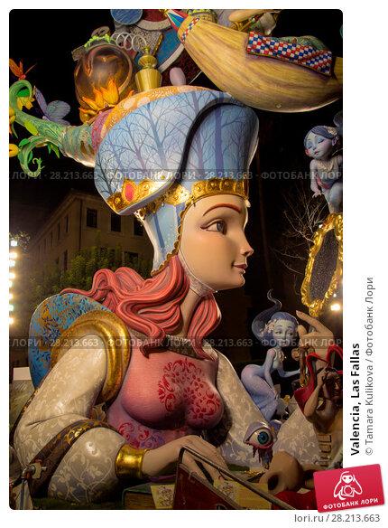 Купить «Valencia, Las Fallas», фото № 28213663, снято 19 марта 2018 г. (c) Tamara Kulikova / Фотобанк Лори