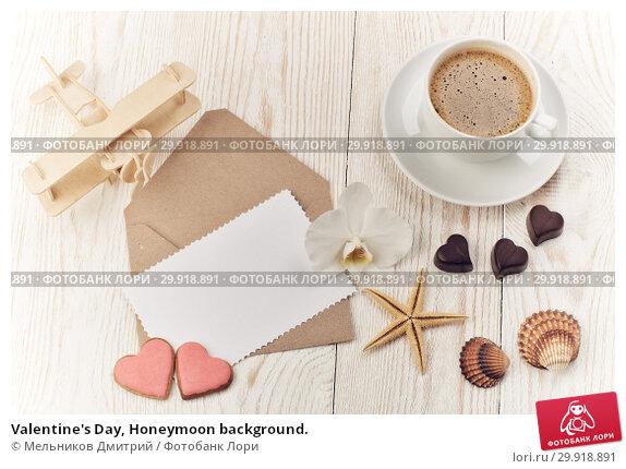 Купить «Valentine's Day, Honeymoon background.», фото № 29918891, снято 11 февраля 2018 г. (c) Мельников Дмитрий / Фотобанк Лори