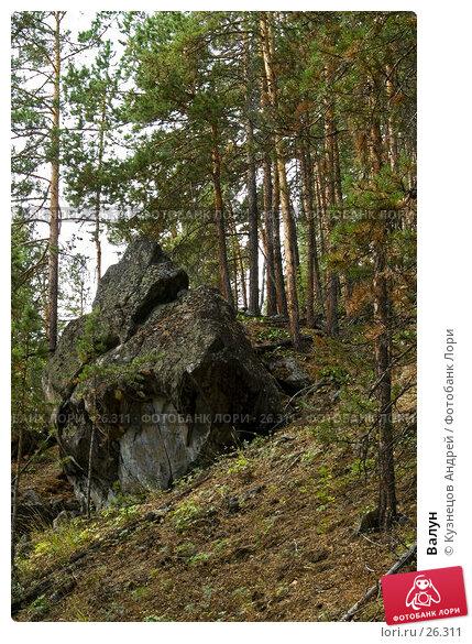 Валун, фото № 26311, снято 11 августа 2005 г. (c) Кузнецов Андрей / Фотобанк Лори