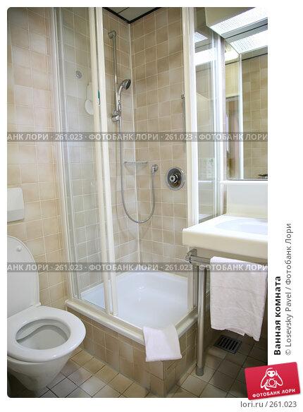 Ванная комната, фото № 261023, снято 24 мая 2017 г. (c) Losevsky Pavel / Фотобанк Лори