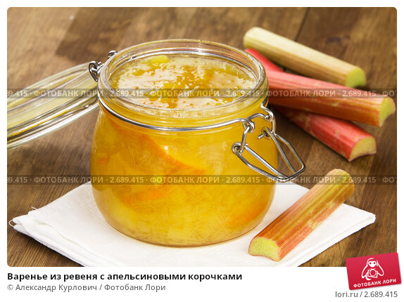 Варенье из ревеня рецепты с фото