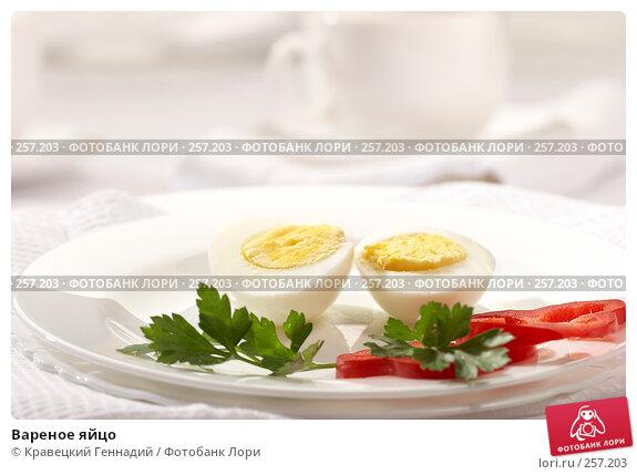 Вареное яйцо, фото № 257203, снято 26 сентября 2005 г. (c) Кравецкий Геннадий / Фотобанк Лори