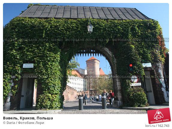 Вавель, Краков, Польша, фото № 162743, снято 23 сентября 2007 г. (c) Daria / Фотобанк Лори